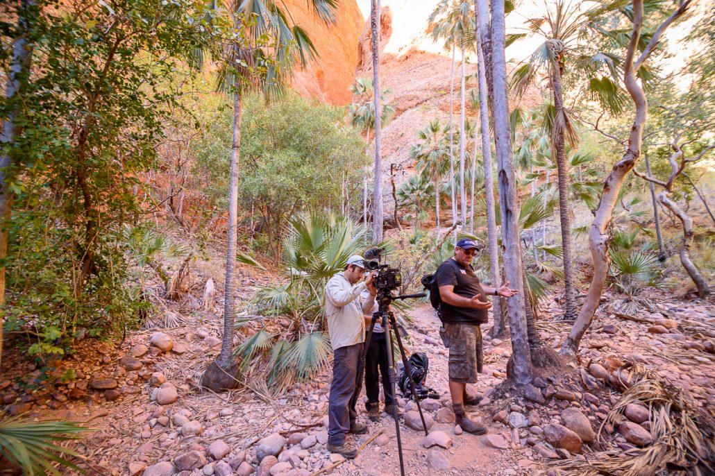 LowRange Film Camera Camp Outback Australia Discovery