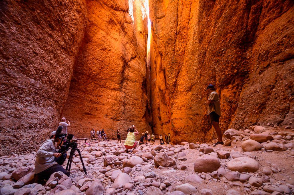 LowRange Film Camera Camp Outback Australia