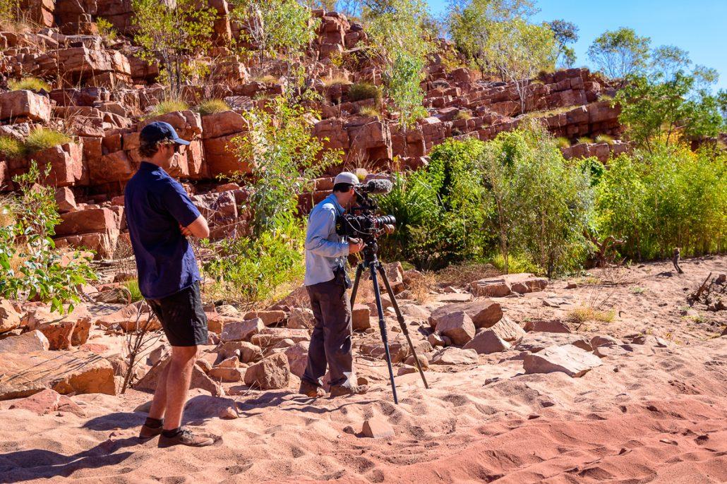 LowRange Filming Camera Gleno Kenno Ernie Landscape Outback