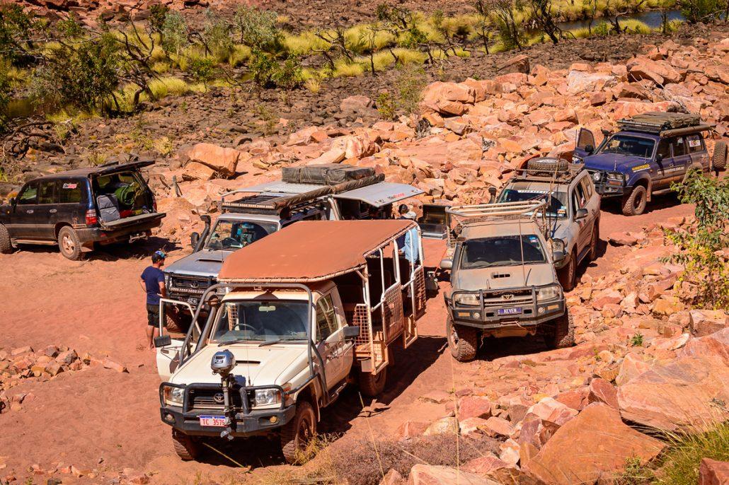 LowRange Landscape Outback Discovery Australia Toyota 4x4 4WD Landcruiser GXL Hilux