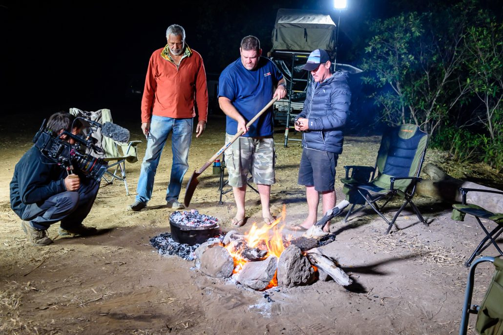 LowRange Filming Camera Gleno Kenno Ernie Landscape Outback Discovery Australia