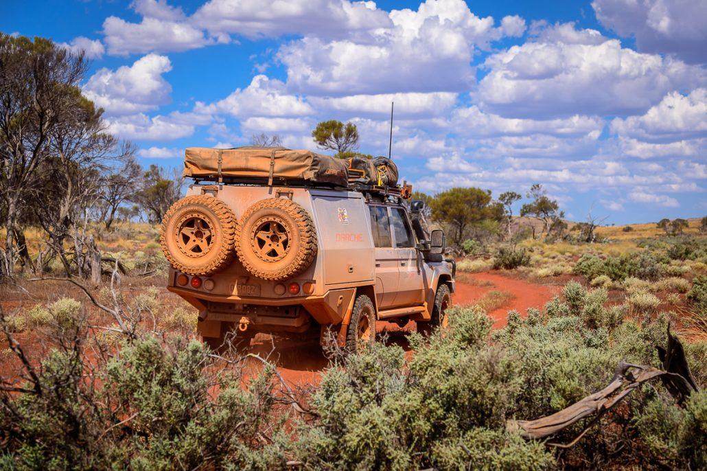 Camp Outback Toyota Landscape Gleno LowRange Discovery 4x4 Hilux Landcruiser Kenno Camping 4WD Filming Australia GXL Ernie Camera