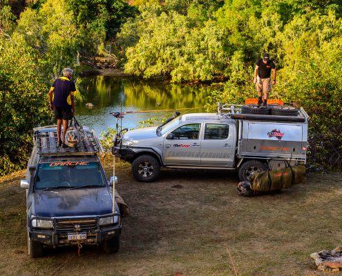 Toyota LowRange Filming Hilux 4WD Ernie Landcruiser Gleno GXL 4x4 Outback Camp Australia Camping Camera Discovery Landscape Kenno
